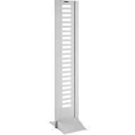 Folderzuil Rack one, aluminium zilver