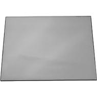 Folien-Schreibunterlage mit Vollsichtplatte, grau
