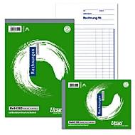 Format Rechnungsbuch A6 2x40 quer
