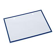Formulieren-/dokumententas, magnetisch, 10 stuks, blauw