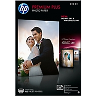 Fotopapier HP Premium Plus, glänzend, 10 x 15 cm, 25 Blatt