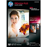 Fotopapier HP Premium Plus, seidenmatt, A4, 20 Blatt