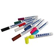Franken Kreidemarker Set ZKM96, 10 Stück, farblich sortiert, Strichstärke 2 - 5 mm