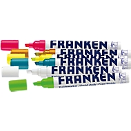 Franken Kreidemarker Set ZKM97, 6 farblich sortierte Marker