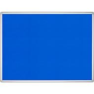 FRANKEN prikbord Pro Line, vilt, 900 x 1200 mm, blauw