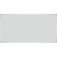 FRANKEN prikbord Pro Line, vilt, 900 x 1800 mm, grijs