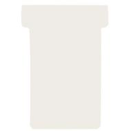 FRANKEN T-Karten, für Stecktafel, Größe 1, cremeweiß