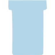 FRANKEN T-Karten, für Stecktafel, Größe 2, hellblau