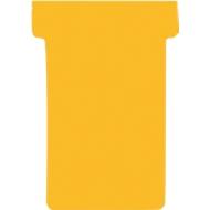 FRANKEN T-Karten, für Stecktafel, Größe 2, orange
