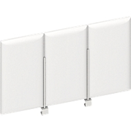 Frontpaneel bureau boven, wit, B 600 mm
