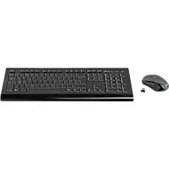 Funk-Tastatur/Maus-Set MediaRange MROS104, Tastatur 105 Tasten, 5-Tasten Maus