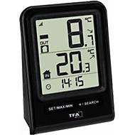 Funk-Thermometer Prisma, digitale Anzeige, Wandmontage oder Tischaufstellung