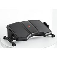 Fußstütze Twin Professional, 3-stufig höhenverstellbar, Anti-Rutsch-Belag & Massage-Rillen, Stahl/Kunststoff