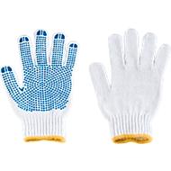 Gants tricotés à picots, taille 10