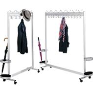 Garderobe multiline, B 1000, 10 Hut-/36 Mantelhaken