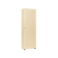 Garderobekast, 1-deurs, B 60 cm, 5 ordnerhoogten, esdoornpatroon