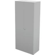 Garderobekast TETRIS WALL, 1 legbord, deuraanslag rechts, B 800 x D 440 x H 1880 mm,