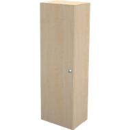 Garderobenschrank TETRIS WALL, 1 Fachboden, Türanschlag links, B 600 x T 440 x H 1880 mm, Ahorn-Dekor