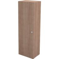 Garderobenschrank TETRIS WALL, 1 Fachboden, Türanschlag links, B 600 x T 440 x H 1880 mm, Kirsche Romana-Dekor