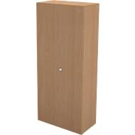 Garderobenschrank TETRIS WALL, 1 Fachboden, Türanschlag rechts, B 800 x T 440 x H 1880 mm, Buche-Dekor