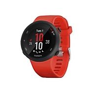 Garmin Forerunner 45 - schwarz - intelligente Uhr mit Band - Lava Red