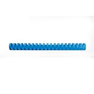GBC® Binderücken, Plastik, Ø 22 mm, 100 Stück, blau