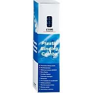 GBC® Binderücken, Plastik, Ø 8 mm, 100 Stück, blau