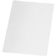 GBC dekbladen voor pons- en wirebinden, A4, karton 350 g/m², wit, pak van 100