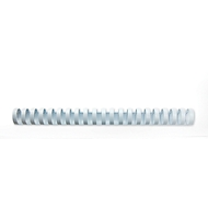 GBC® inbindruggen, plastic, Ø 16 mm, 100 stuks, wit