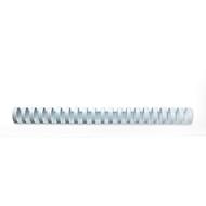 GBC® inbindruggen, plastic, Ø 19 mm, 100 stuks, wit