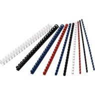 GBC® Peignes plastique de reliure Ø 6 mm, blanc, 100 pièces
