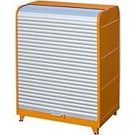 Gefahrstoff-Rollladenschrank, Typ RSG-3, orange RAL2000