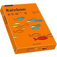 Gekleurd kopieerpapier Mondi Rainbow, A3, 80 g/m², intens oranje, 1 pak = 500 vellen