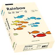 Gekleurd kopieerpapier Mondi Rainbow, A4, 160 g/m², lichtchamoisgeel, 1 pak = 250 vellen