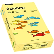 Gekleurd kopieerpapier Mondi Rainbow, A4, 160 g/m², lichtgeel, 1 pak = 250 vellen