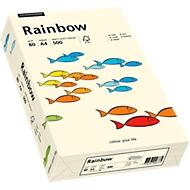 Gekleurd kopieerpapier Mondi Rainbow, A4, 80 g/m², lichtchamoisgeel, 1 pak = 500 vellen