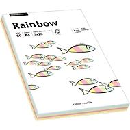 Gekleurd kopieerpapier Mondi Rainbow-Mixpaket, A4, 80 g/m², pastel, 1 pak = 100 vellen