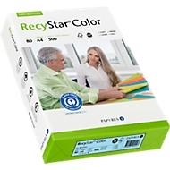 Gekleurd kopieerpapier Papyrus RecyStar Color, DIN A4, 80 g/m², lichtblauw, 1 verpakking = 500 vellen
