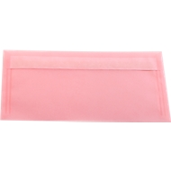 Gekleurde enveloppen 110 x 220 mm (DL), pink, 10 stuks