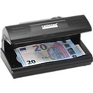 Geldscheinprüfer ratiotec® Soldi 120, UV-Licht, Dokumente & alle Währungen, Netzbetrieb, schwarz