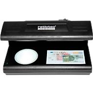 Geldscheinprüfer ratiotec® Soldi 185, UV-Licht/Weißlicht/Magnetsensor, Dokumente & alle Währungen, Netzbetrieb