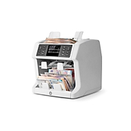 Geldscheinprüfer Safescan 2985-SX, EZB-Standard, EUR/GBP/USD/CHF/CZK/PLN/BGN, zählt & sortiert bis zu 1200 Scheine/min