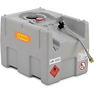 Generatortank CEMO DT-Mobil EASY, 200 l diesel- en stookolietank, B 1270 x D 1070 x H 1120 mm