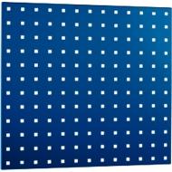 Geperforeerde plaat 495 x 457 mm, blauw RAL 5010