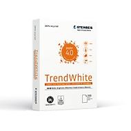 Gerecycleerd papier Steinbeis TrendWhite, A4, 80 g/m², krantwit, 10 x 500 vellen
