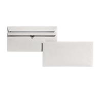 Gerecycleerde enveloppen, staand, 100 x 220 mm (DL), 75 g/m², zonder venster, zelfklevend, 1000 stuks