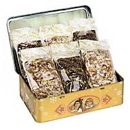 """Geschenkdose """"Elisen-Schatulle gold"""", mit Nürnberger Elisen-Lebkuchen"""