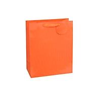 Geschenkzak krijtstrepen, XXL groot, 26 x 135 x 32 cm, scheurbestendig, set van 4, oranje
