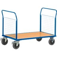 Gitter-Doppelstirnwandwagen, L 1000 x B 700 mm