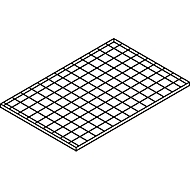 Gitterrost-Ebene, 1300 x 800 mm